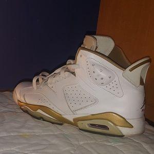 f3979f8939b Men s Golden Jordan Shoes on Poshmark